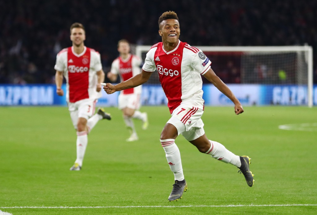 Liverpool join the race to sign Ajax winger