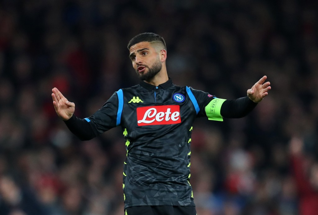 Will Insigne be an upgrade on Manchester United's current options? (Photo by Catherine Ivill/Getty Images)