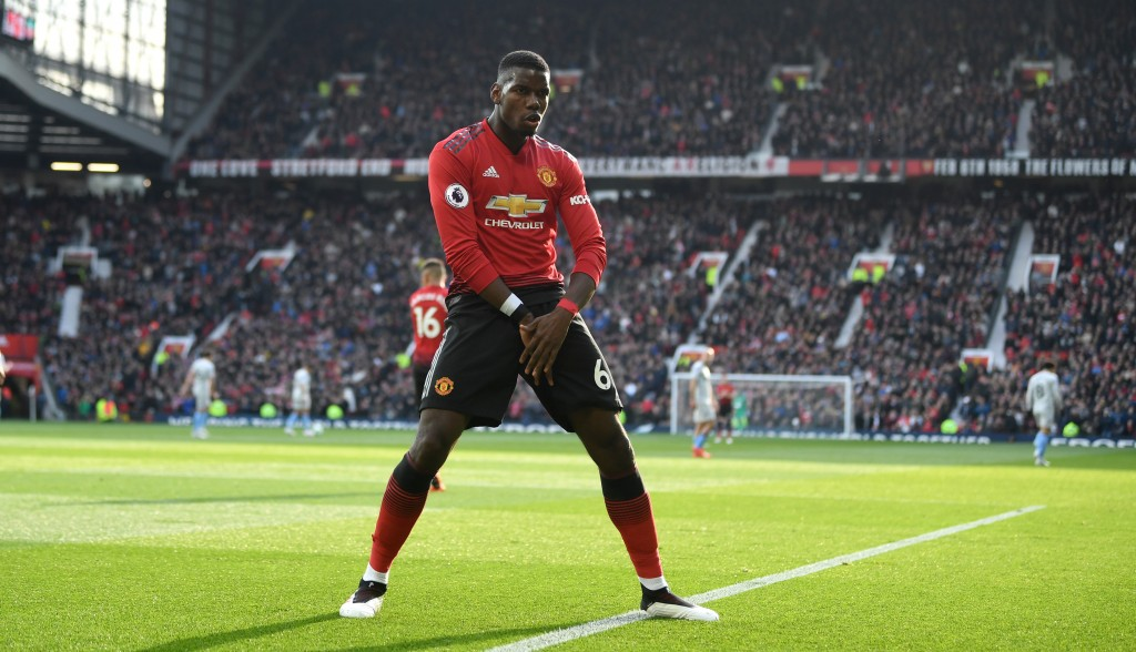 Pogba is a world class midfielder on his day. (Photo by Gareth Copley/Getty Images)