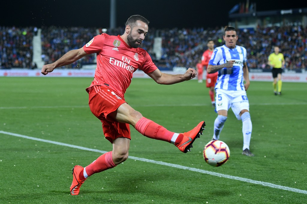 Carvajal looked rusty on his return. (Photo by Denis Doyle/Getty Images)