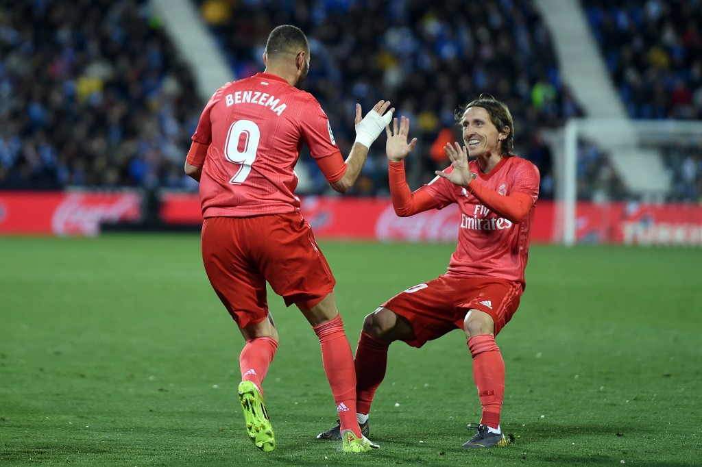 Modric provided the assist for Benzema's goal. (Photo by Denis Doyle/Getty Images)