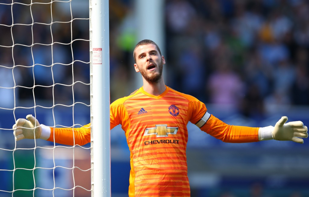 Which de Gea turns up will decide the result in all likelihood. (Photo by Alex Livesey/Getty Images)