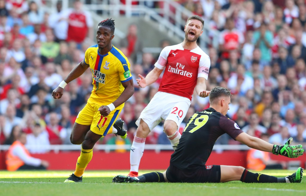 At his lowest ebb at Arsenal. (Photo by Warren Little/Getty Images)
