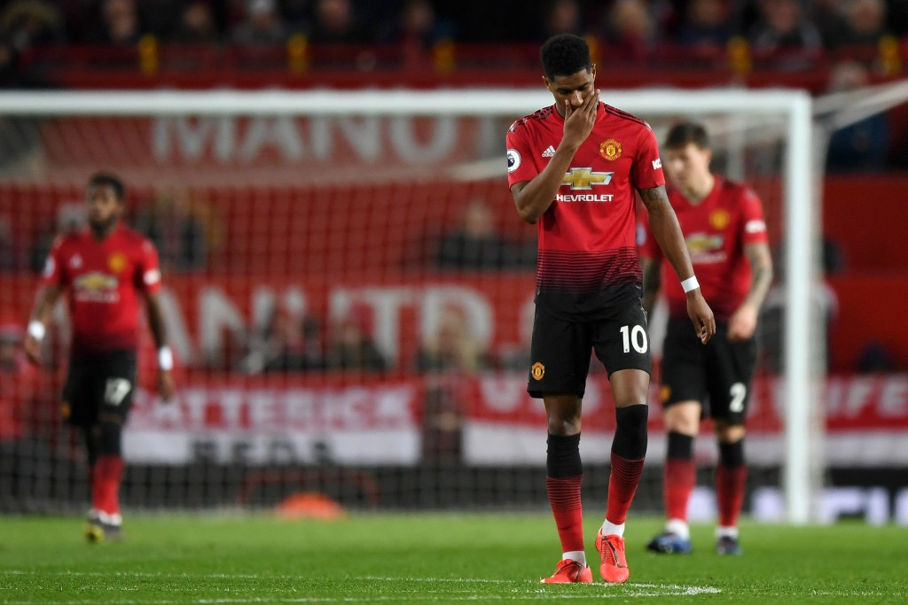 Rashford failed to deliver again. (Photo by Shaun Botterill/Getty Images)