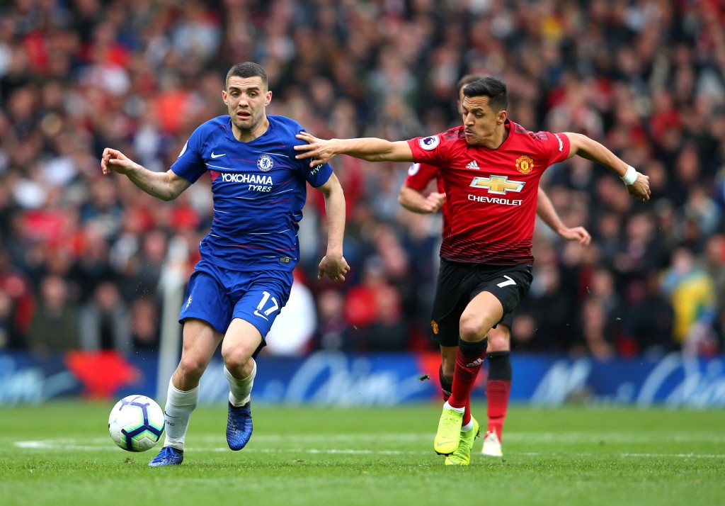 Kovacic struggled to impose himself on the proceedings (Photo by Alex Livesey/Getty Images)
