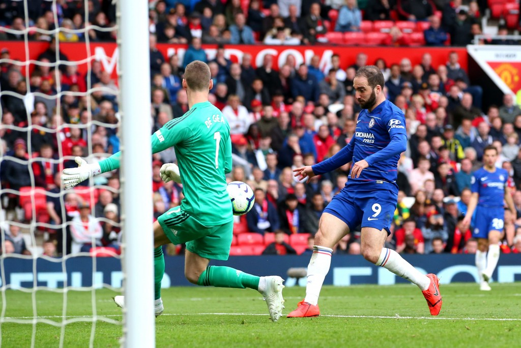 Lacklustre Higuain (Photo by Alex Livesey/Getty Images)