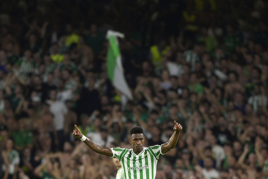 The rise of Junior Firpo has caught the attention of Liverpool. (Picture Courtesy - AFP/Getty Images)