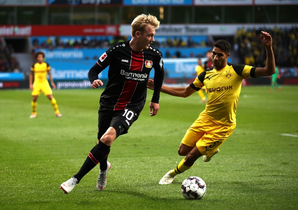 Is Brandt set to don the famous yellow strip of Borussia Dortmund? (Photo by Maja Hitij/Bongarts/Getty Images)