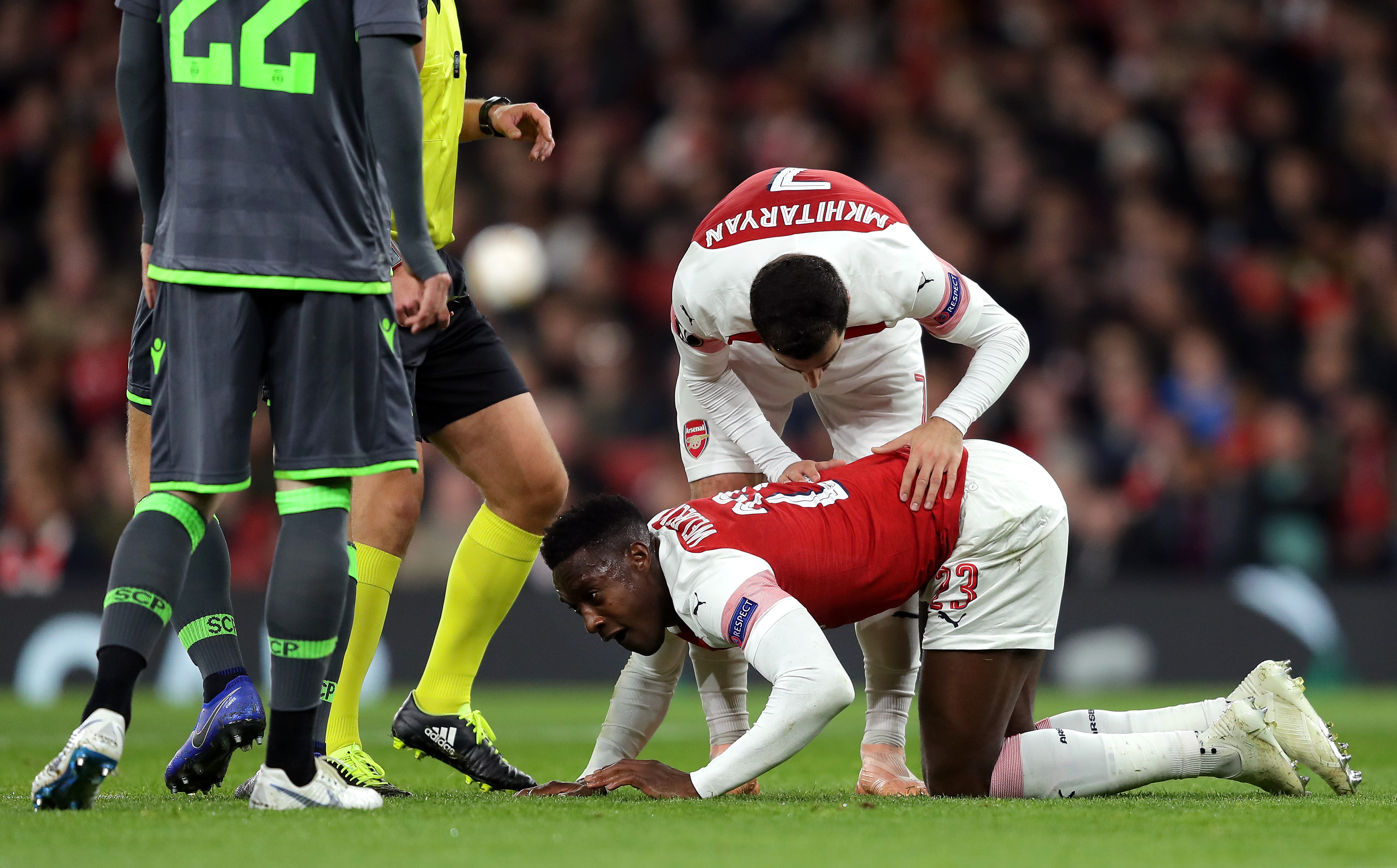 Welbeck's injury in November convinced Arsenal not to offer a new deal. (Photo courtesy: AFP/Getty)