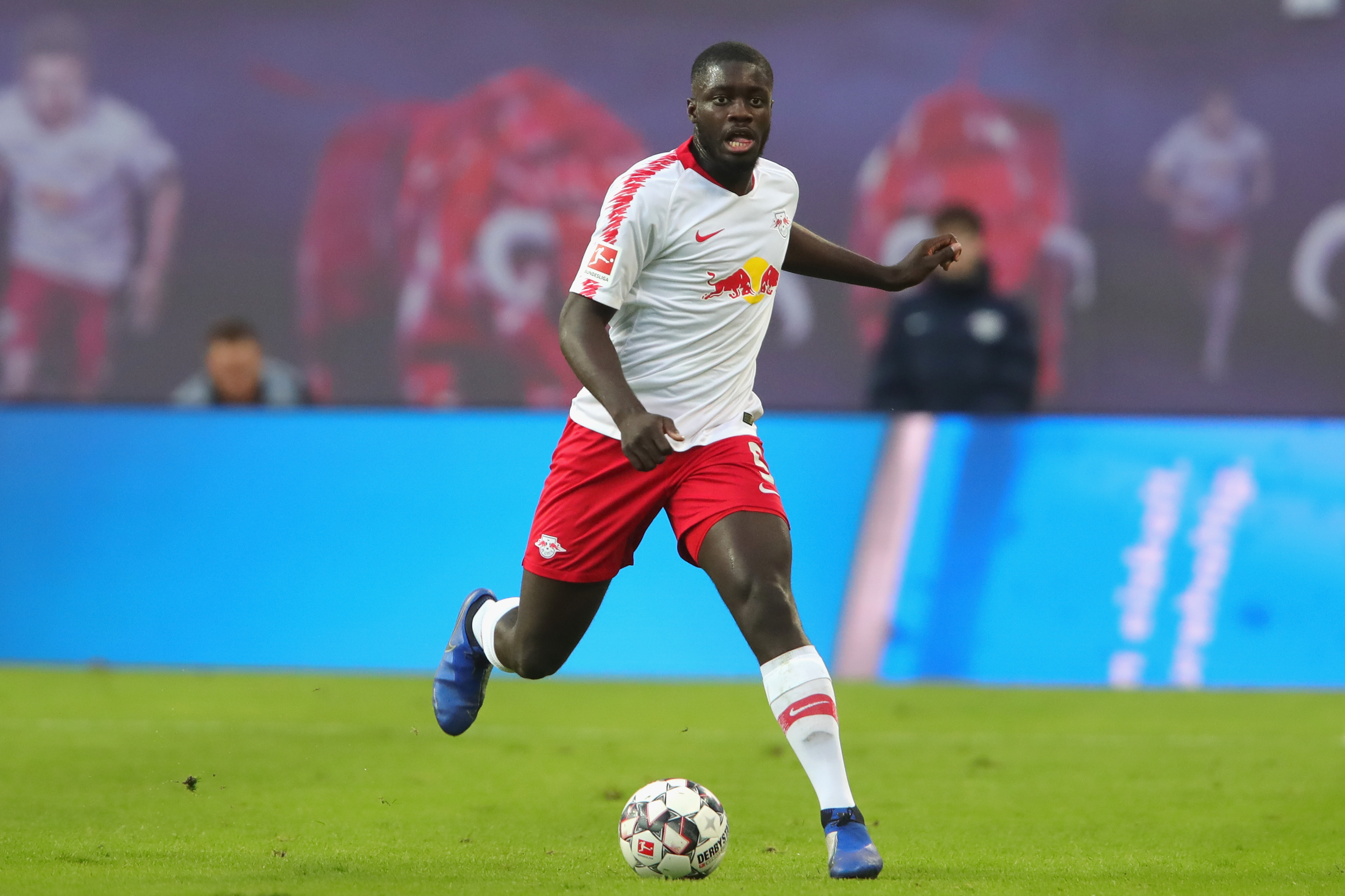 Upamecano has interest building in the Premier League from Manchester United and Arsenal. (Photo courtesy: AFP/Getty)