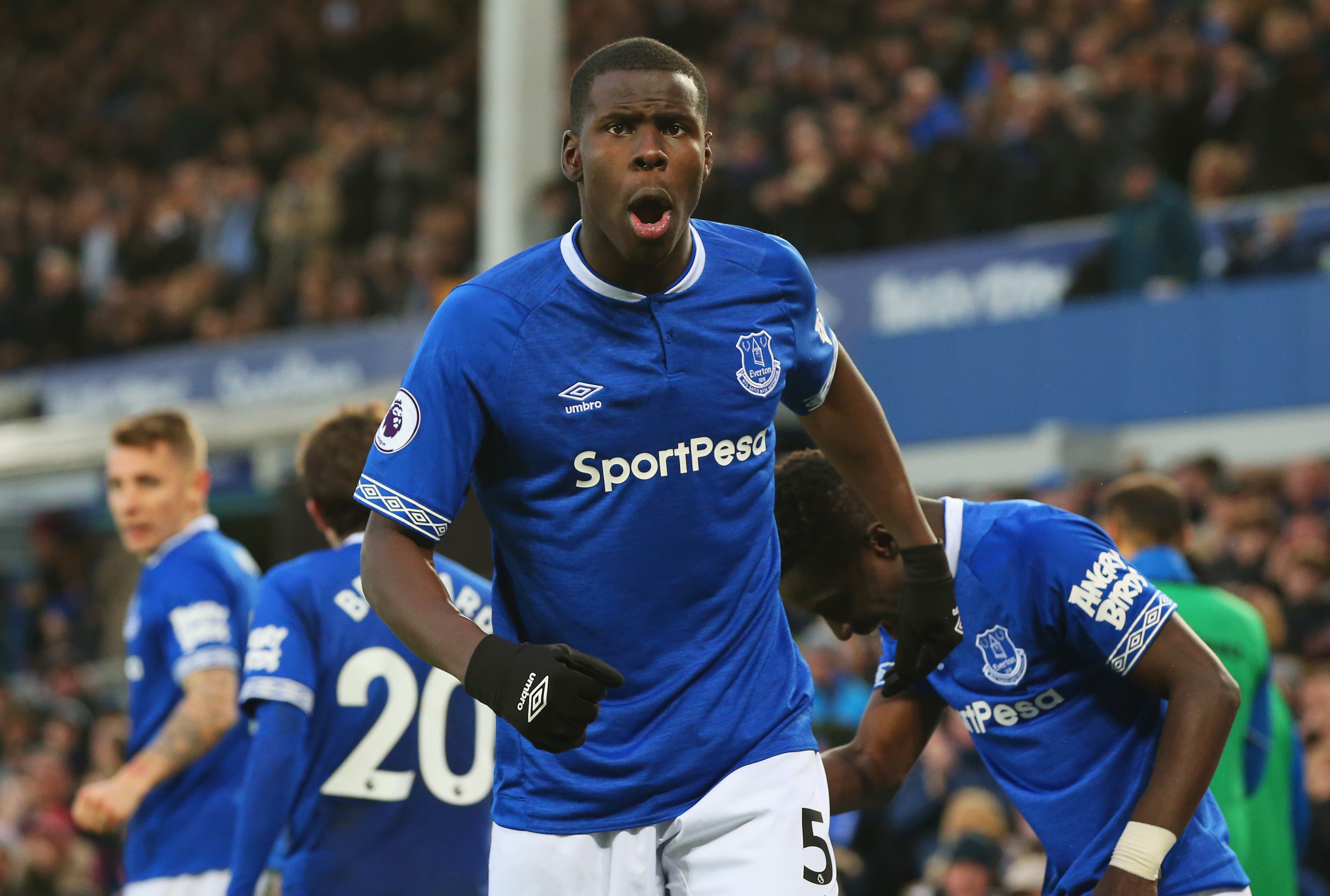 Zouma resuscitated his career with the 2018-19 campaign on loan at Everton. (Picture Courtesy - AFP/Getty Images)