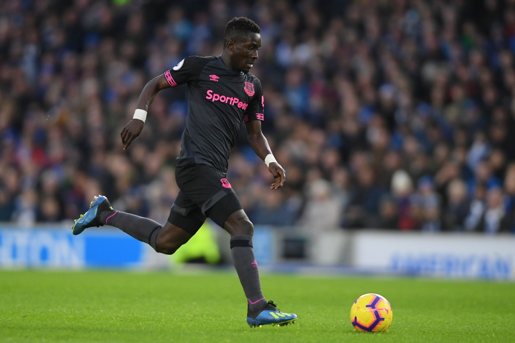 BRIGHTON, ENGLAND - DECEMBER 29: Idrissa Gueye of Everton in action during the Premier League match between Brighton & Hove Albion and Everton FC at American Express Community Stadium on December 29, 2018 in Brighton, United Kingdom. (Photo by Mike Hewitt/Getty Images)