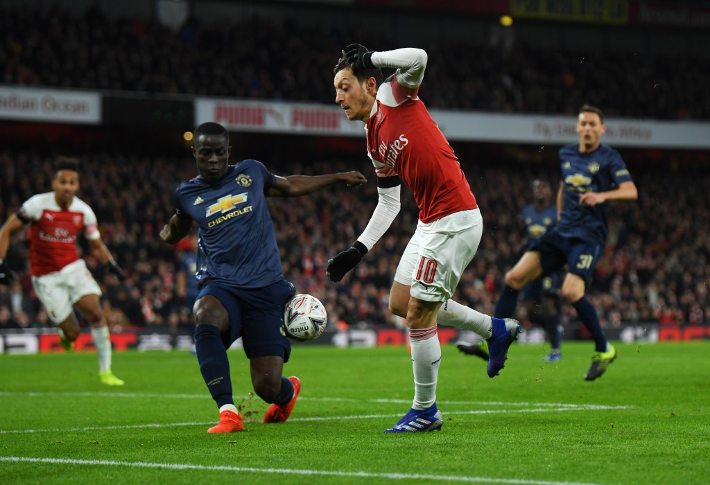 Will Bailly join Ozil at Arsenal? (Photo by Mike Hewitt/Getty Images)