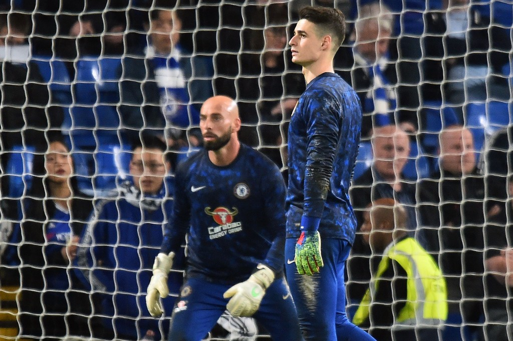 The better Kepa. (Picture Courtesy - AFP/Getty Images)