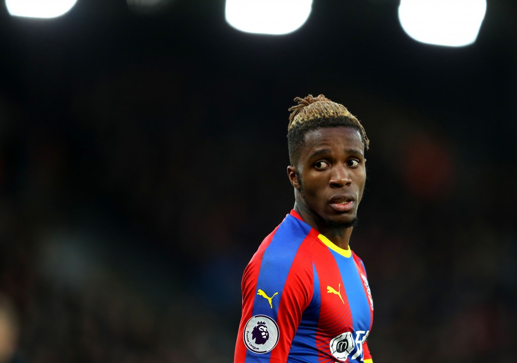 Wilfried Zaha is linked with move to Arsenal. (Photo courtesy: AFP/Getty)