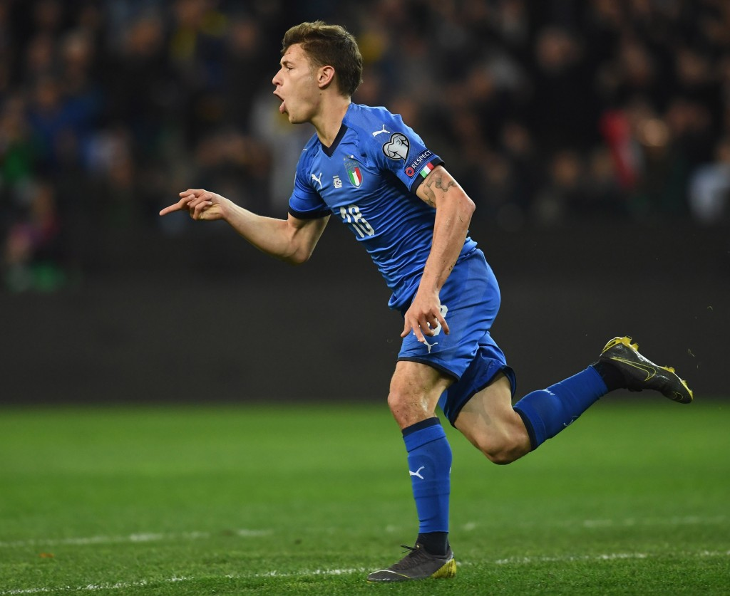 Barella being scouted by Manchester United (Photo by Claudio Villa/Getty Images)