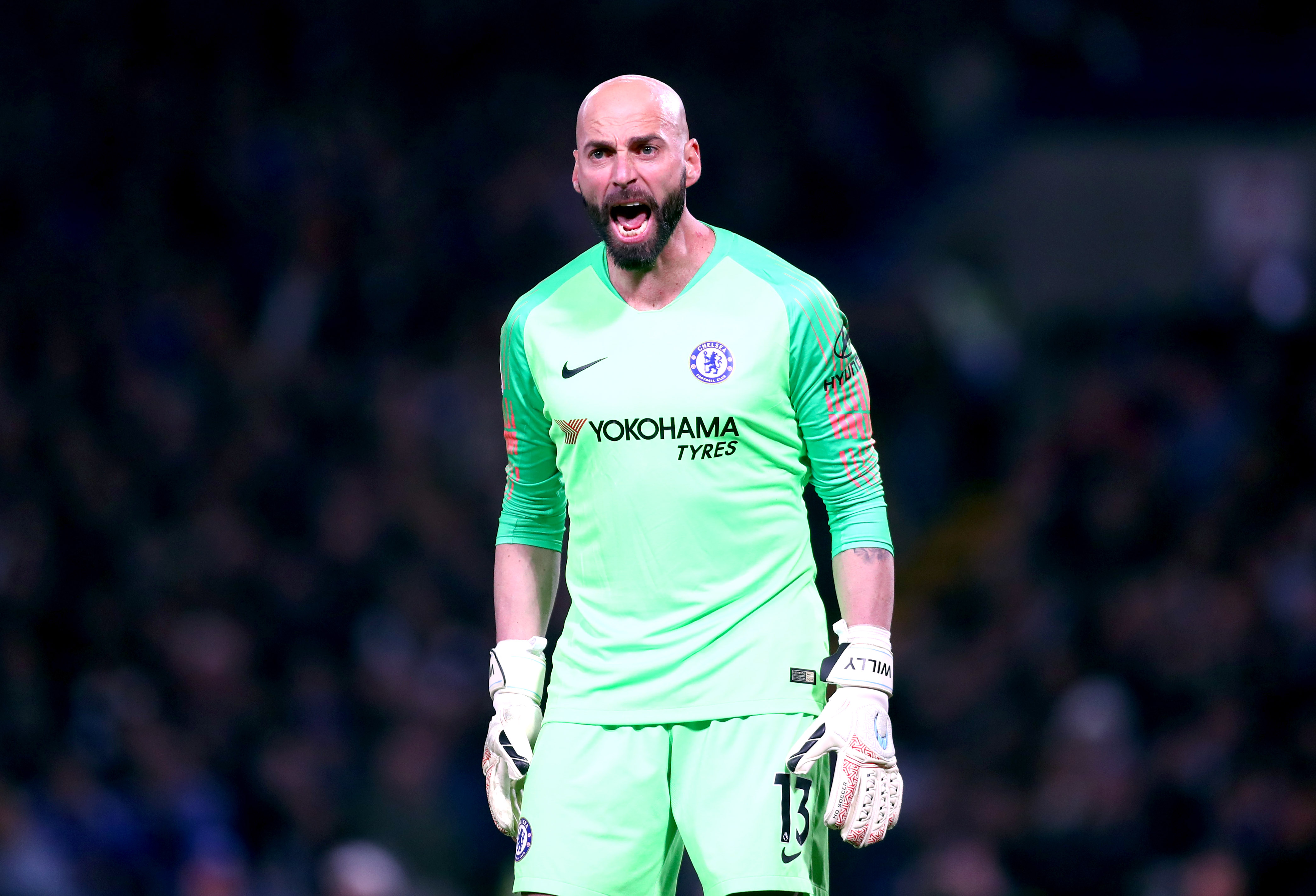 West Ham could sign Caballero on a free transfer from Chelsea. (Photo courtesy: AFP/Getty)