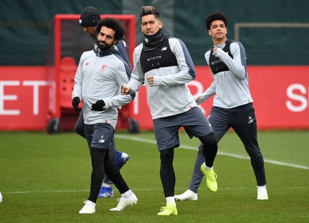Salah and Firmino are ruled out (Photo credit should read PAUL ELLIS/AFP/Getty Images)