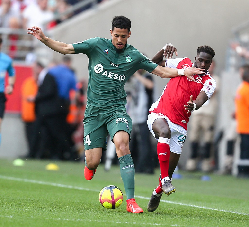 William Saliba is also on Arsenal's wishlist this summer. (Photo courtesy: AFP/Getty)