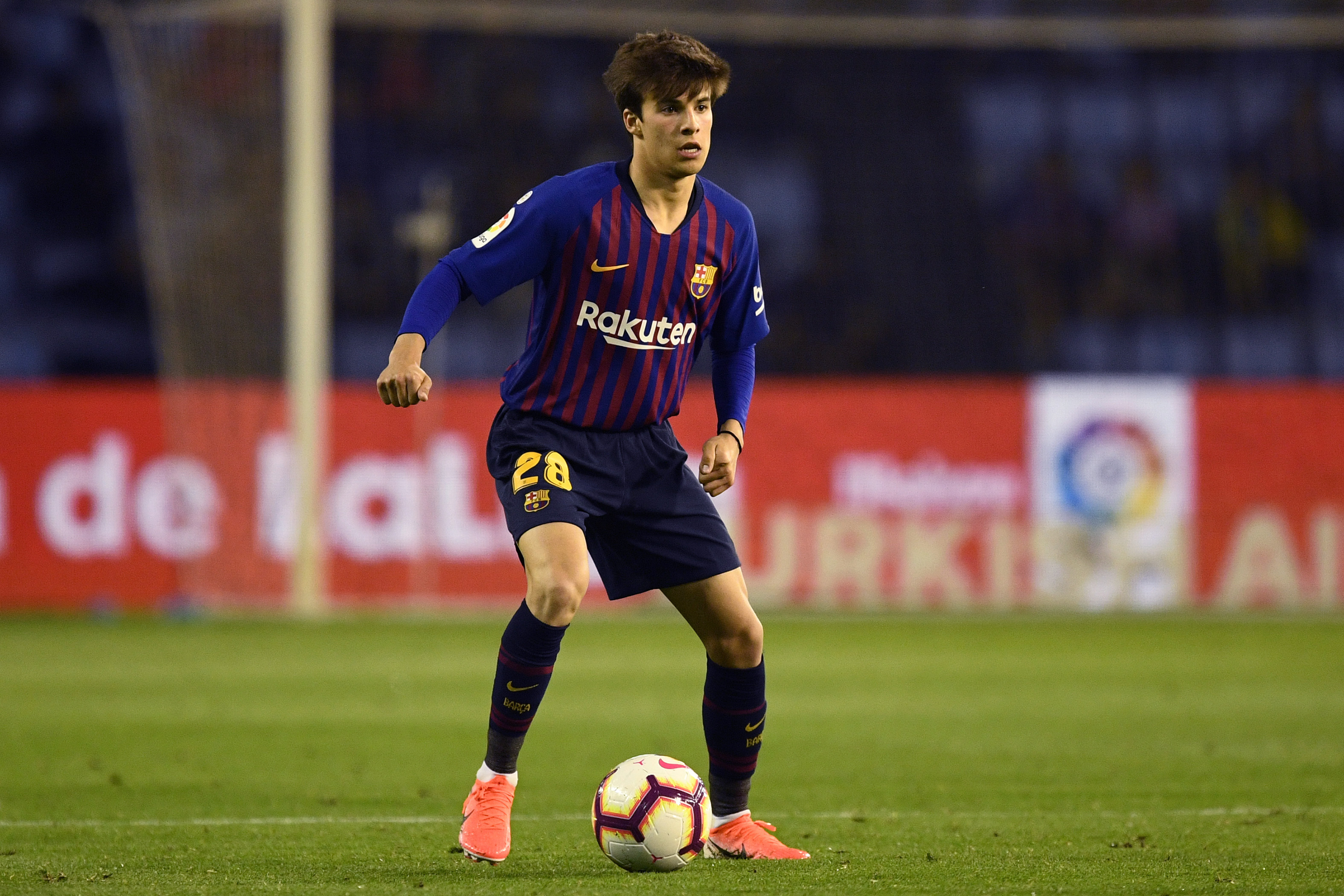 Riqui Puig could be loaned out in January. (Photo by Octavio Passos/Getty Images)