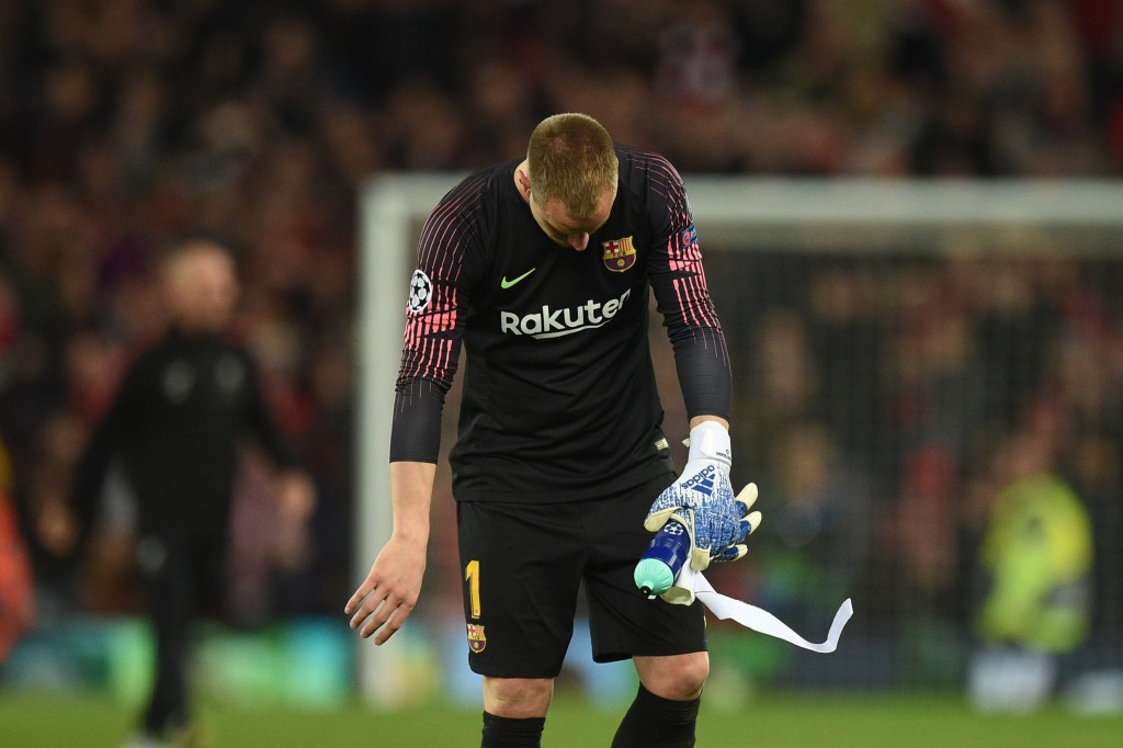 Camp Nou exit beckoning? (Photo by Oli Scarff/AFP/Getty Images)