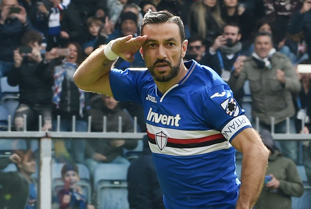 Will Quagliarella end a season to remember on a high? (Photo by Paolo Rattini/Getty Images)