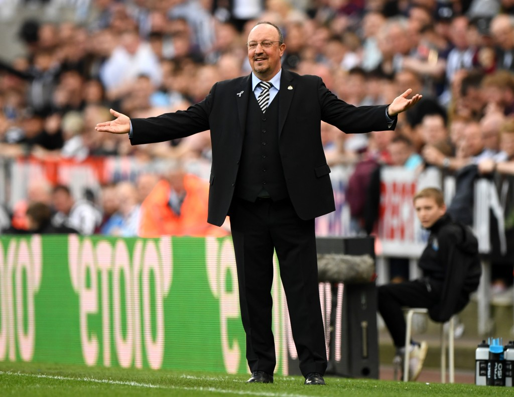 Will Rafa Benitez haunt his former side Liverpool on Saturday? (Picture Courtesy - AFP/Getty Images)