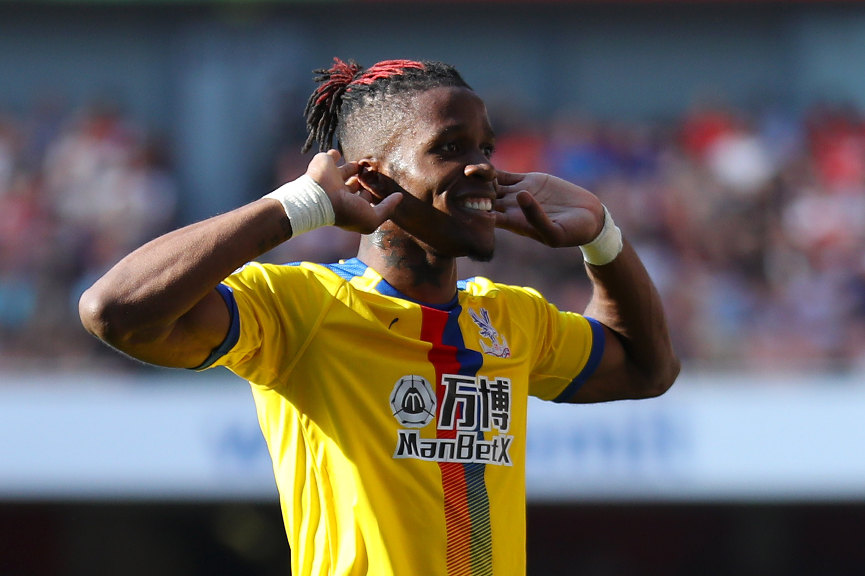 Zaha remains Arsenal's top target. (Photo by Warren Little/Getty Images)
