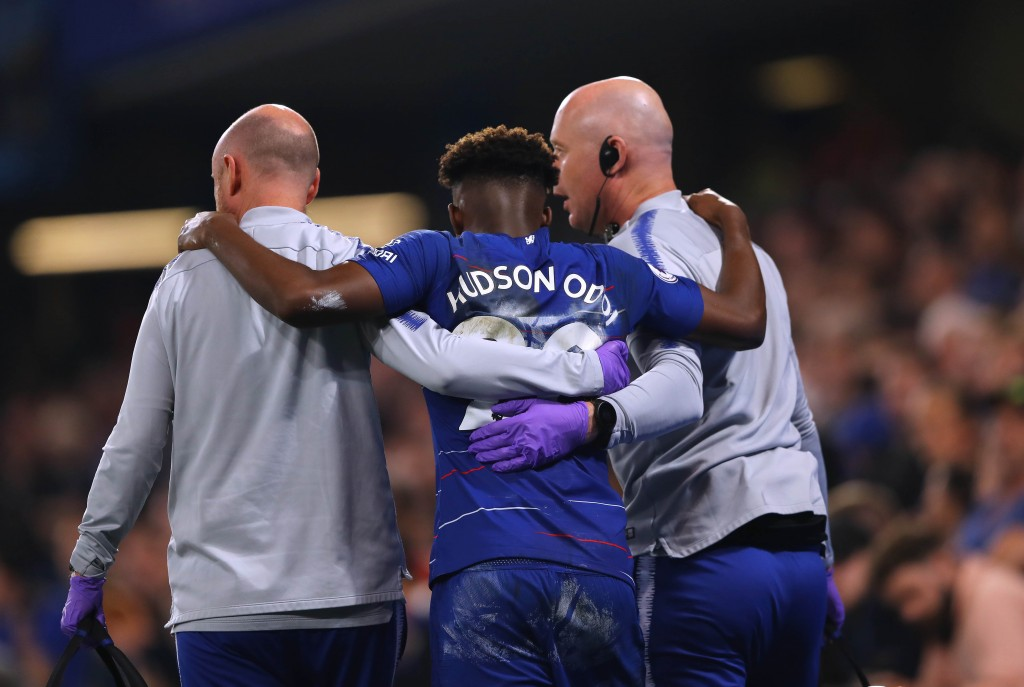 Callum Hudson-Odoi was enjoying a good run of games before the achilles injury. (Picture Courtesy - AFP/Getty Images)