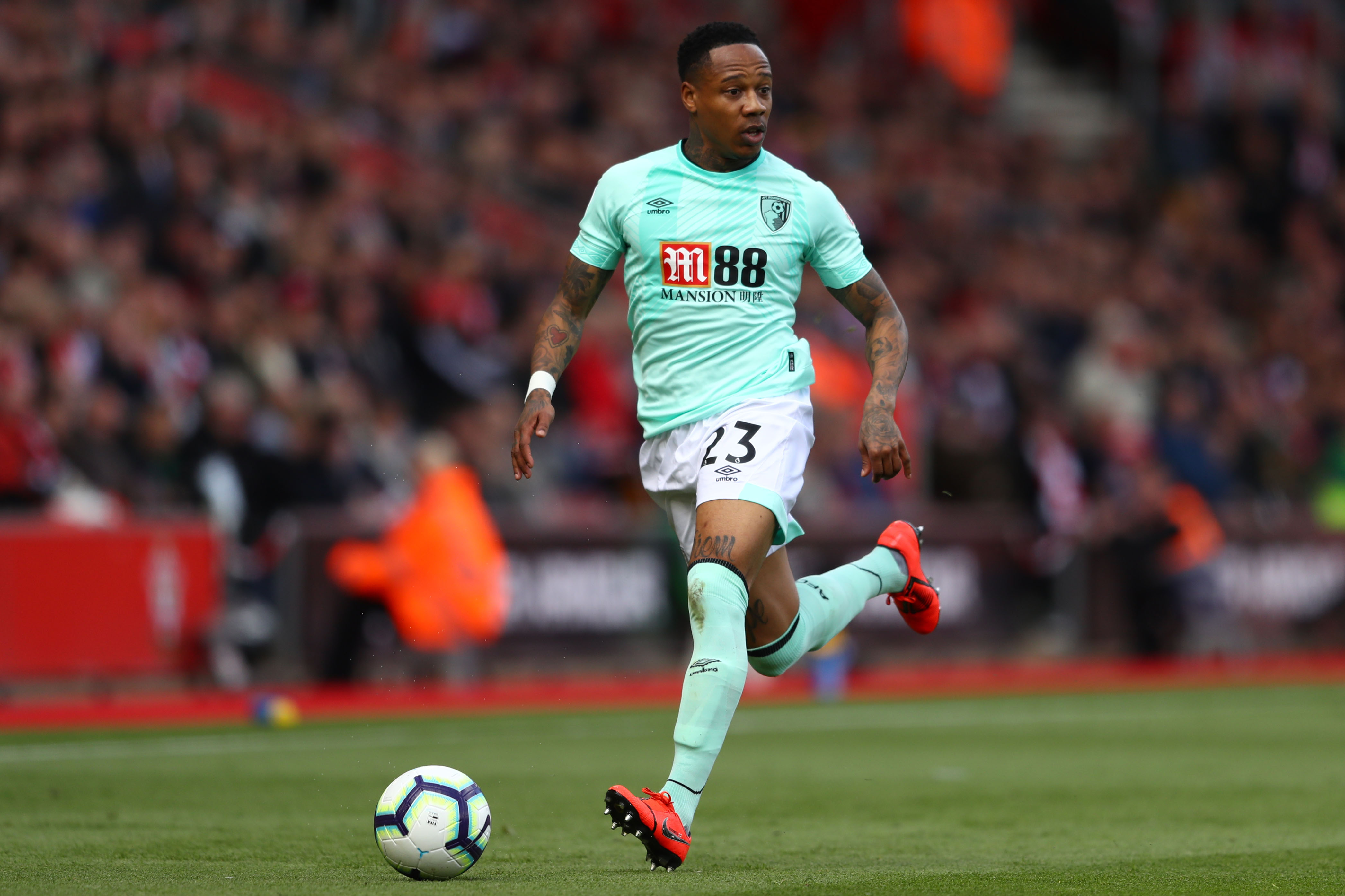 Clyne was on loan at Bournemouth since January. (Photo courtesy: AFP/Getty_