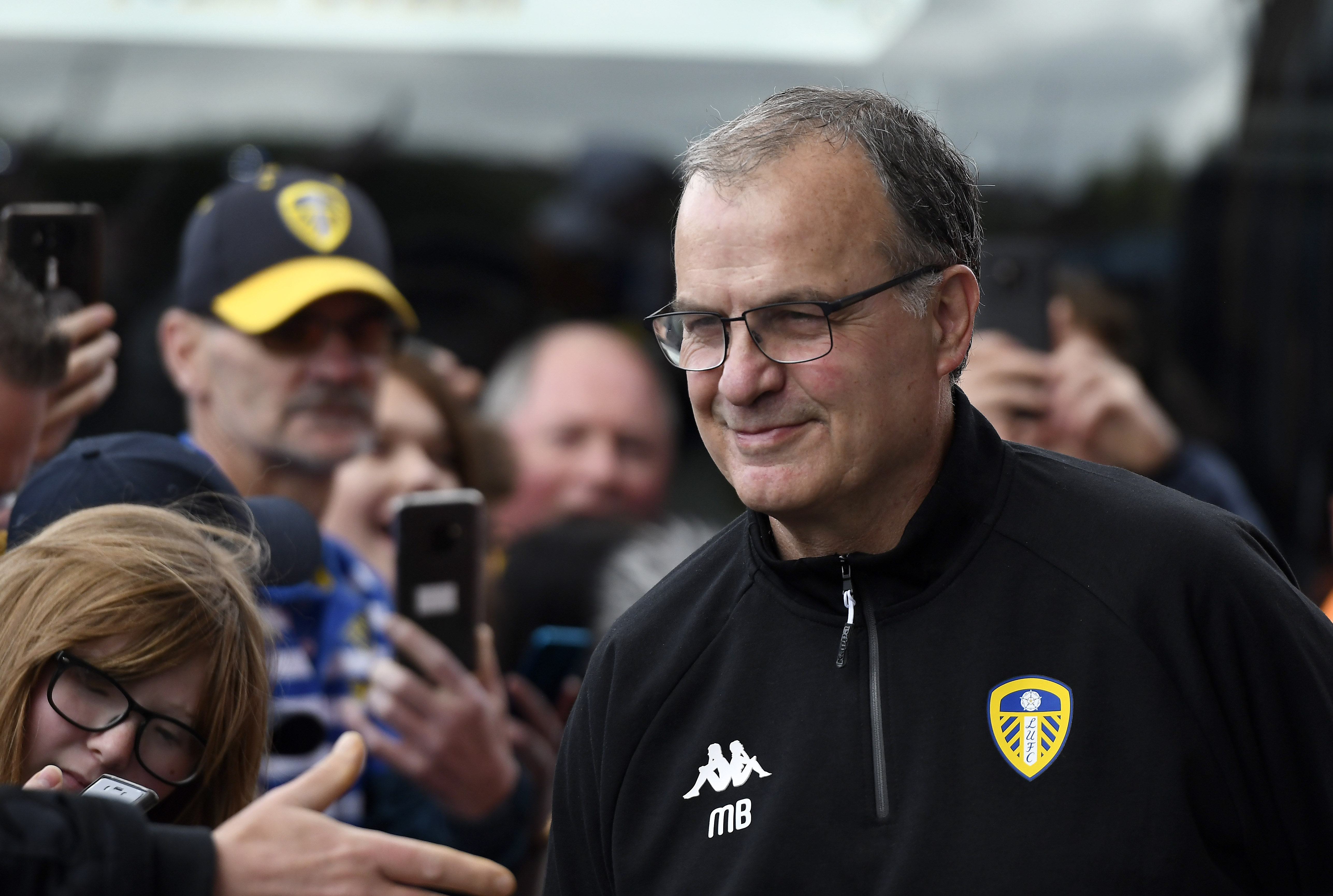 Bielsa will be looking for his first Premier League win on Saturday (Photo by George Wood/Getty Images)