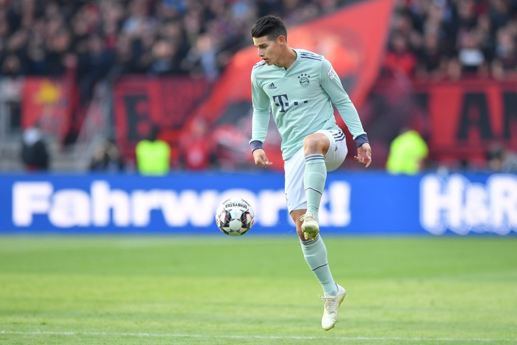 With his time at Bayern Munich coming to an end, what does the future hold for James Rodriguez? (Photo by Sebastian Widmann/Bongarts/Getty Images)