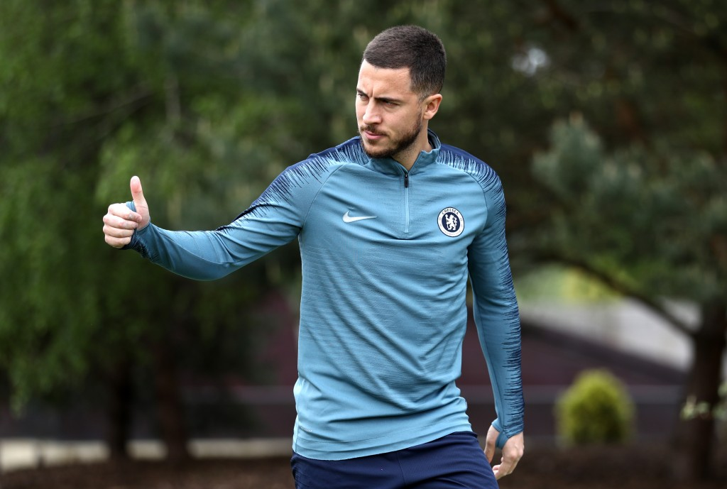 On what could be Hazard's curtain call at Stamford Bridge on Sunday, all eyes will be on the Chelsea talisman. (Photo by Bryn Lennon/Getty Images)