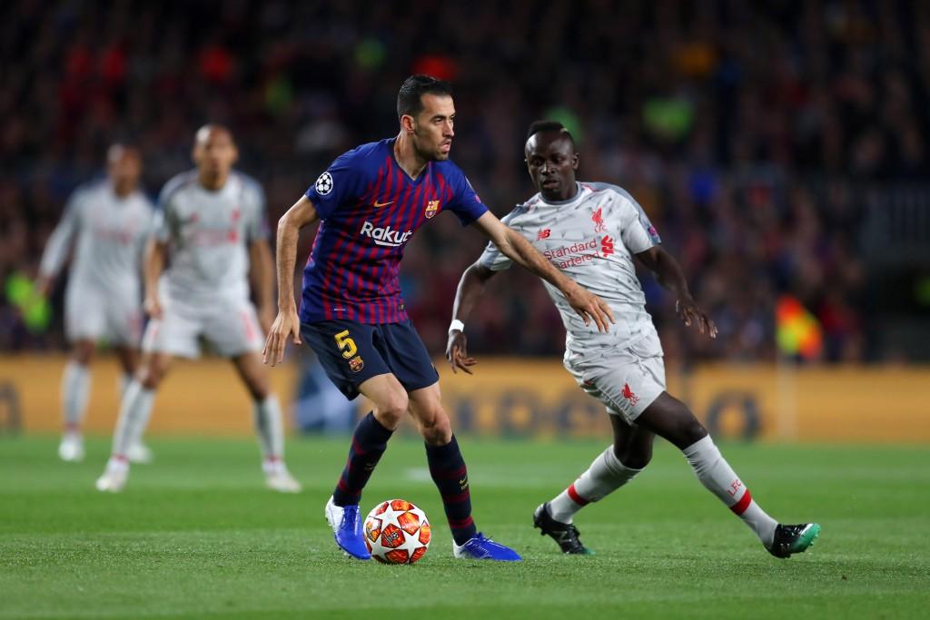 Busquets rolled back the years in a colossal performance. (Photo by Catherine Ivill/Getty Images)