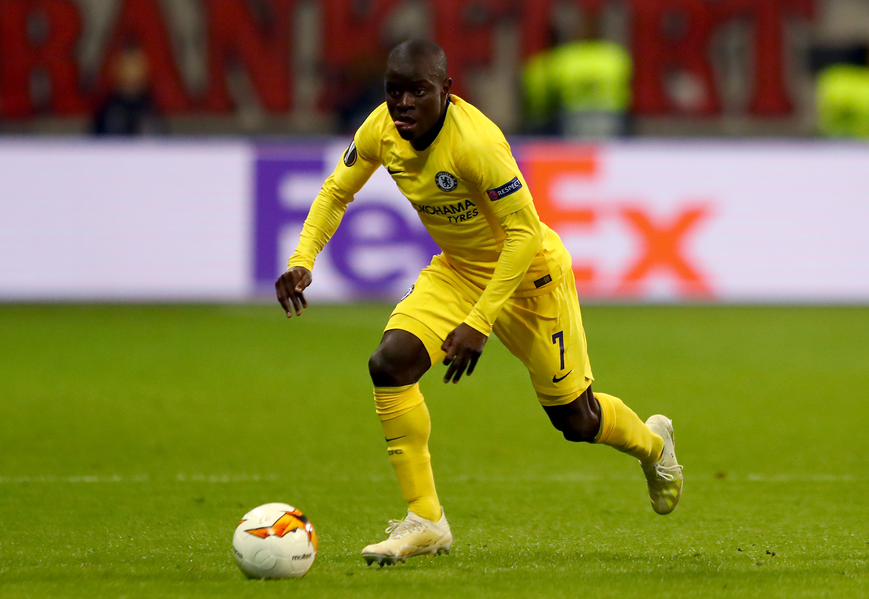 Will Kante resist a big money offer from PSG to remain at Chelsea? (Photo courtesy: AFP/Getty)