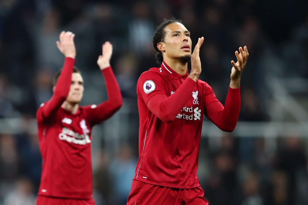 Van Dijk and Robertson impressed again (Photo by Clive Brunskill/Getty Images)