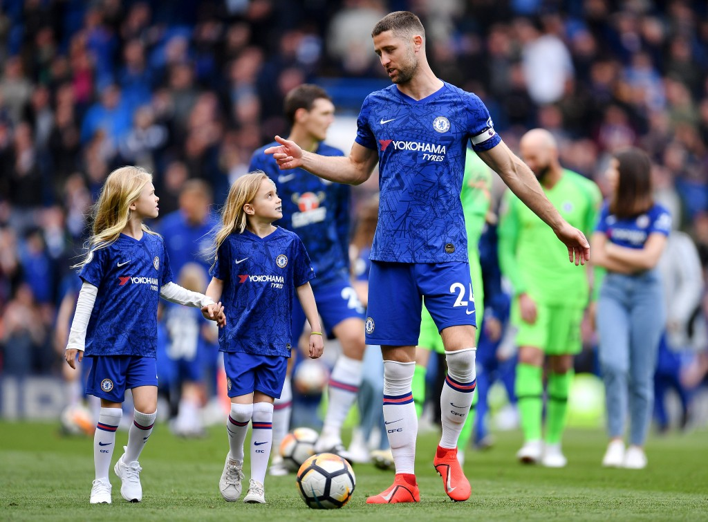 Cahill set to lead his team out one last time? (Photo by Justin Setterfield/Getty Images)