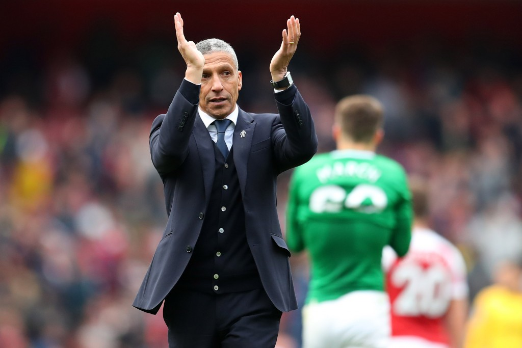 Will Chris Hughton's side pour cold water over City's title hopes? (Photo by Catherine Ivill/Getty Images)