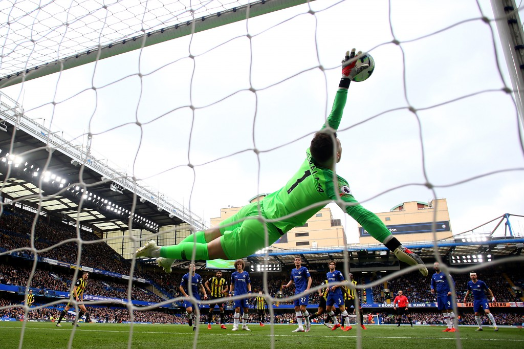 What a Kepa! (Photo by Richard Heathcote/Getty Images)