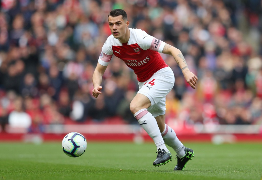 Xhaka's form has gone off a cliff. (Photo by Catherine Ivill/Getty Images)