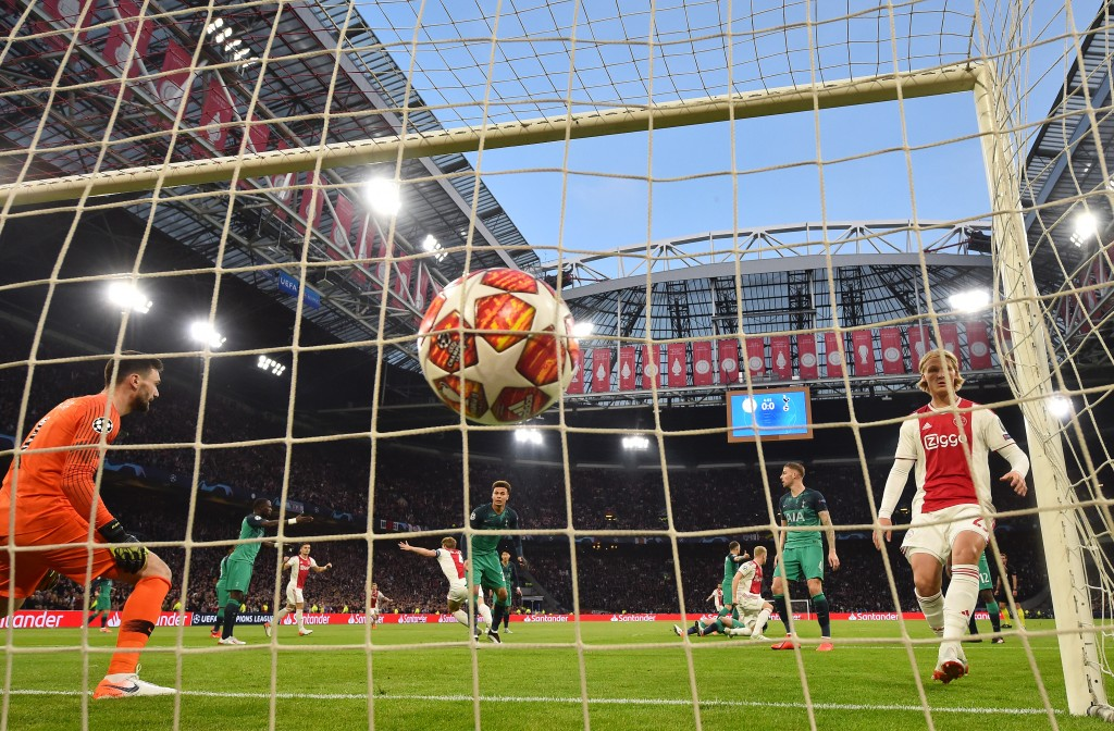 A goal that seemed to ahve done enough for Ajax. (Photo by Dan Mullan/Getty Images )
