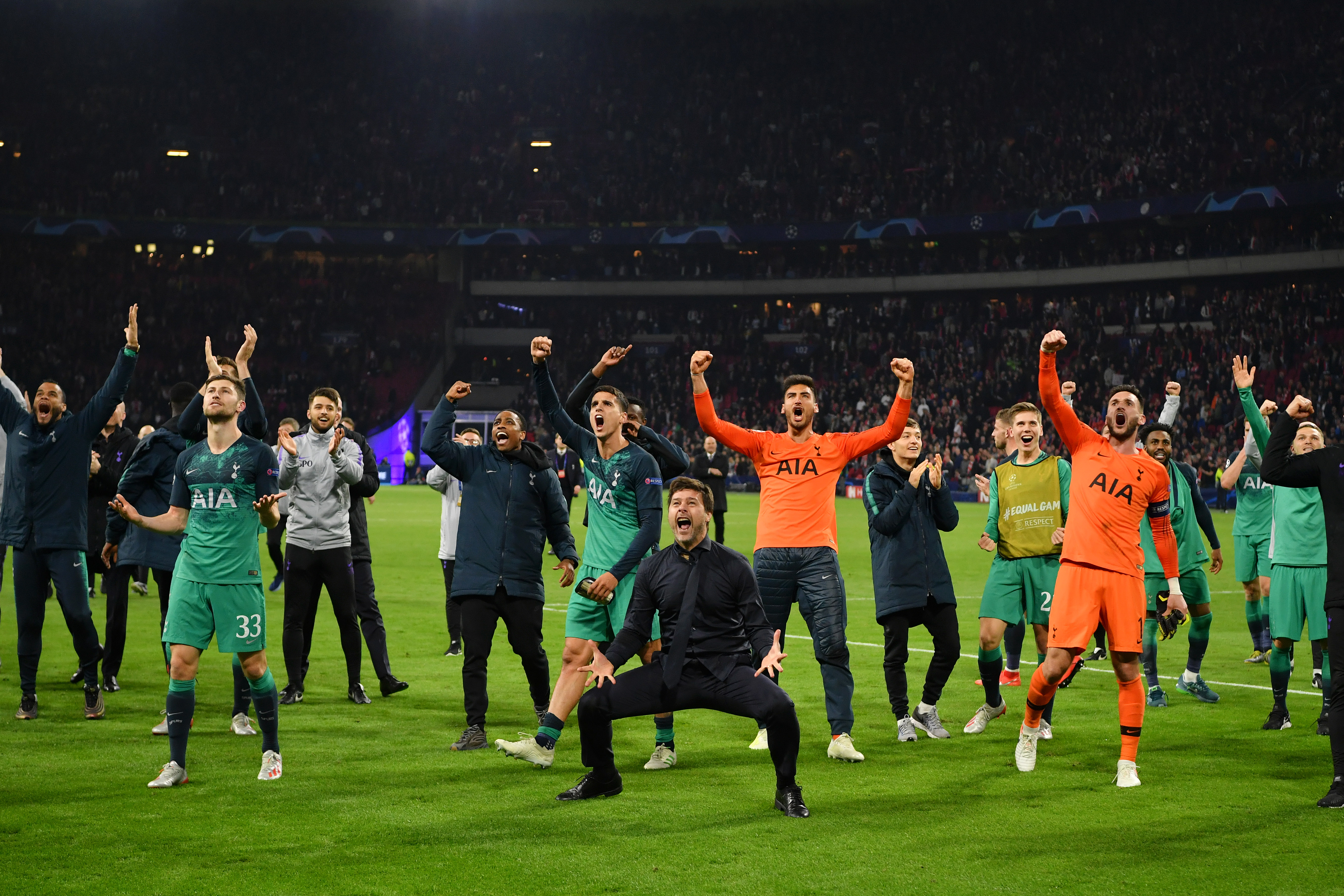 The Miracle of Amsterdam will long live in the memories of Tottenham fans (Photo by Dan Mullan/Getty Images )