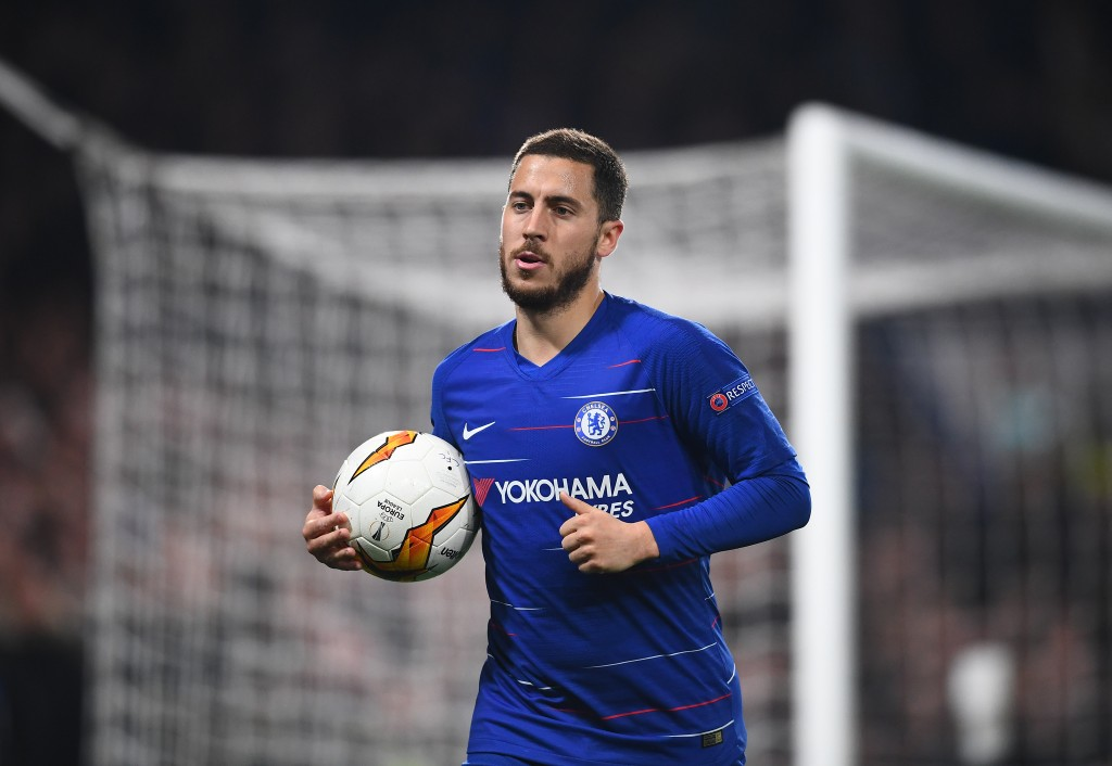 Chelsea's hopes will be riding on the shoulders of Hazard (Photo by Clive Mason/Getty Images)