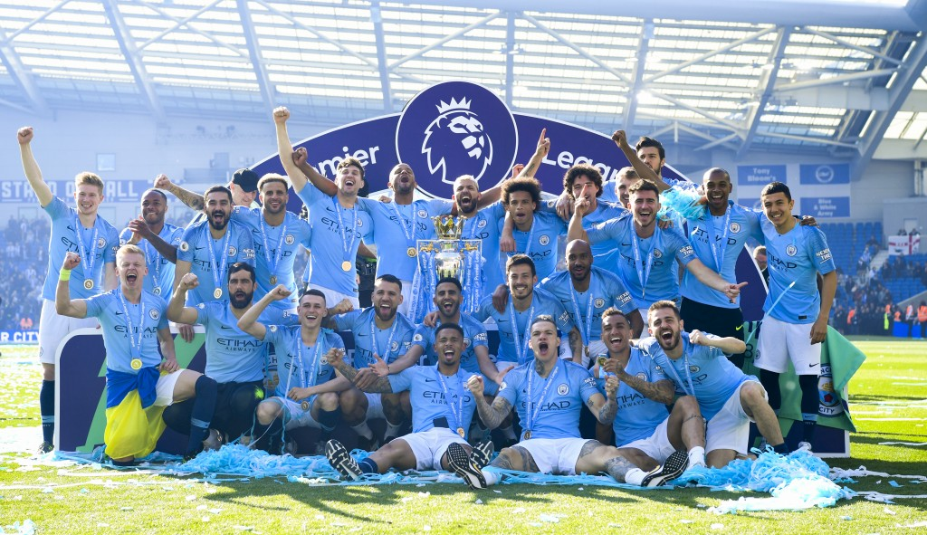 Are Manchester City set to lift another trophy on Saturday? (Photo by Michael Regan/Getty Images)