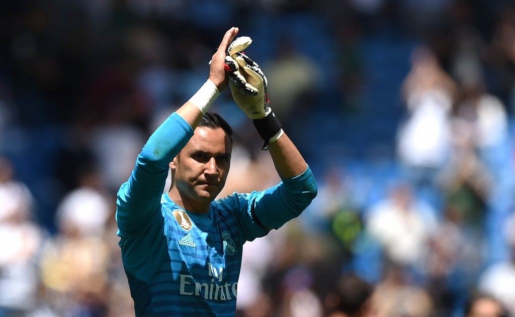 Navas starred in his farewell encounter (Photo by Denis Doyle/Getty Images)