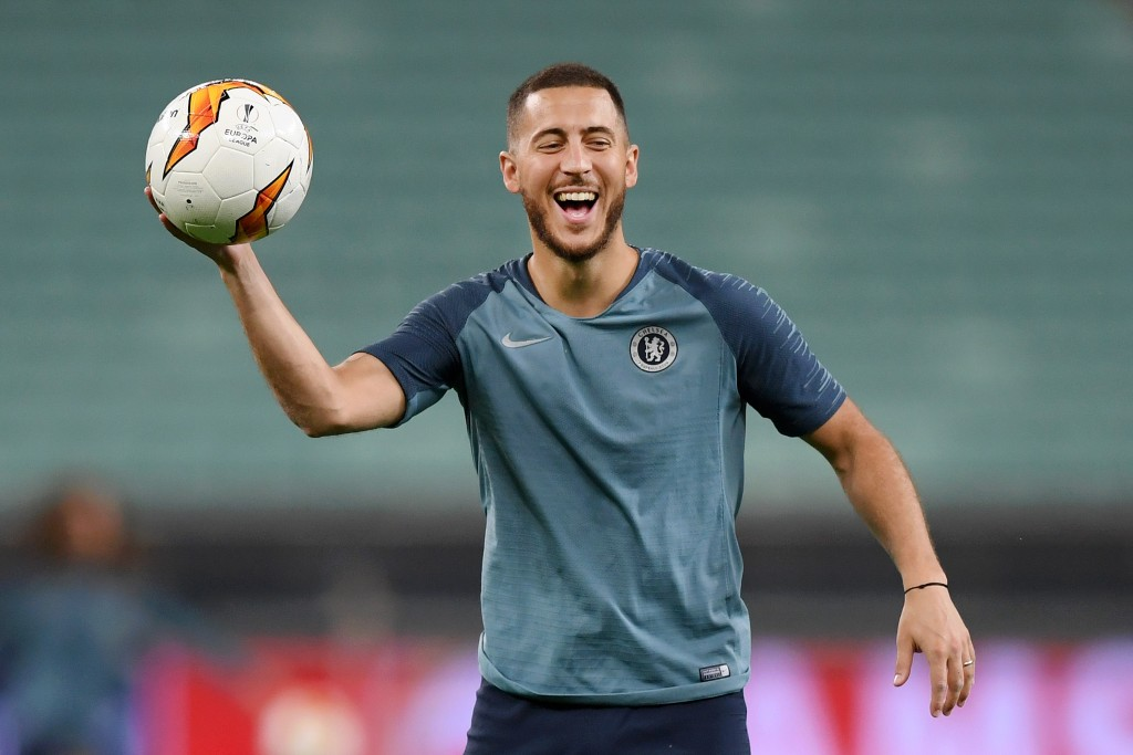 Could Wednesday's Europa League final be Hazard's last game for Chelsea? (Photo by Shaun Botterill/Getty Images)