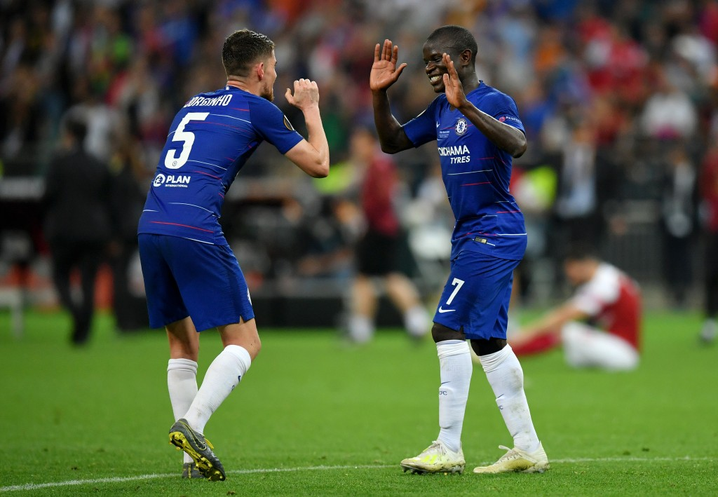 Kante and Jorginho put in admirable displays (Photo by Dan Mullan/Getty Images)
