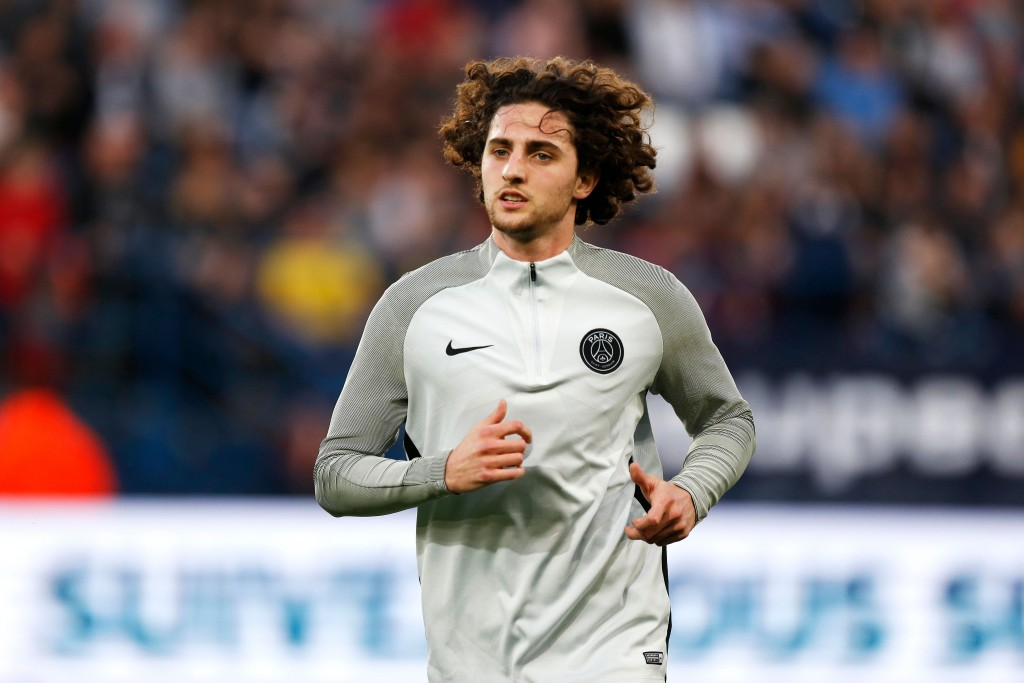 Man United in talks to sign Paris Saint-Germain midfielder Adrien Rabiot