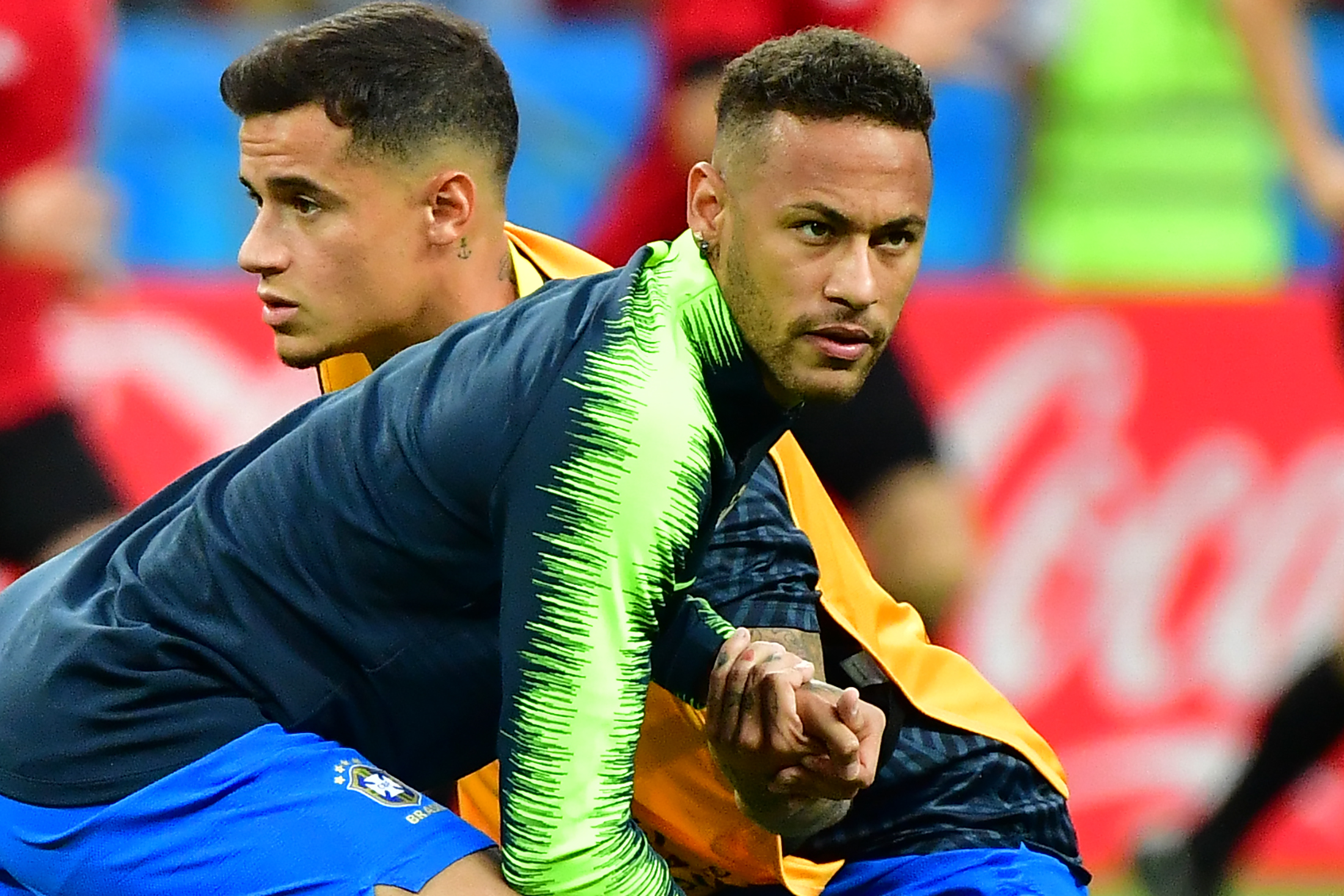 Neymar and Coutinho unavailable for Brazil (Photo by LUIS ACOSTA/AFP/Getty Images)