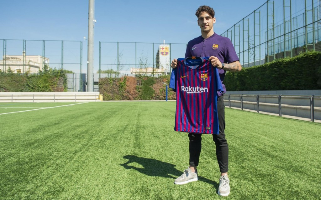 The long-term Busquets replacement? (Picture Courtesy - FC Barcelona)